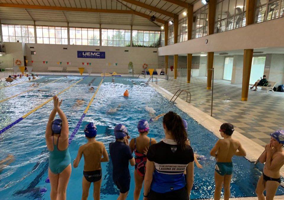 El C.D. Triatlón Laguna de Duero concluye satisfactoriamente su I Campamento Navideño para menores