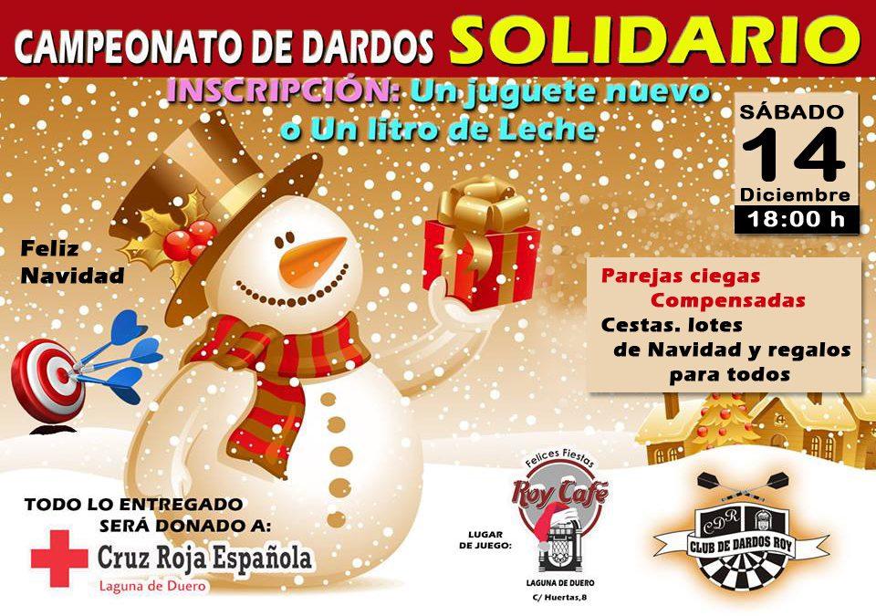 El Café Bar Roy celebrará este sábado su Campeonato de Dardos Solidario