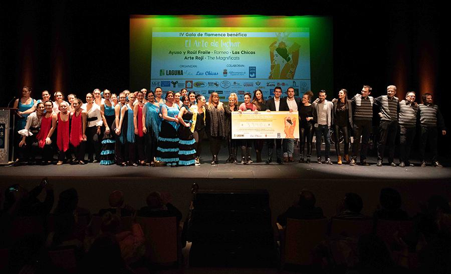 Laguna se vuelca un año más en solidaridad con la lucha contra el cáncer