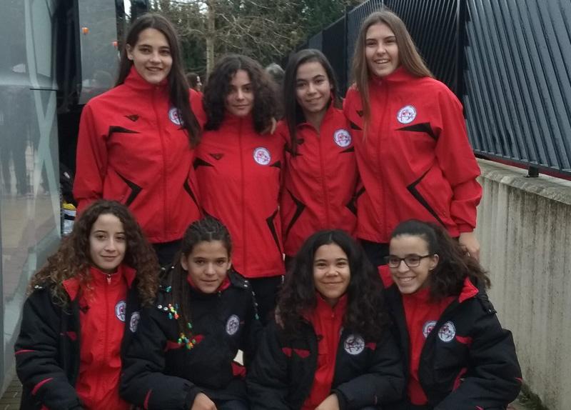 Ocho jugadoras del Atlético de Laguna con la selección regional para el Campeonato de España
