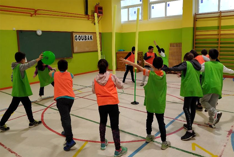 El CEIP La Laguna incluye el Goubak entre su oferta deportiva