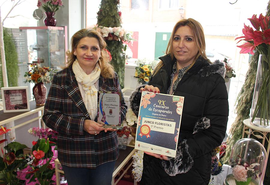 Los ganadores del IX Concurso de Escaparates reciben sus reconocimientos