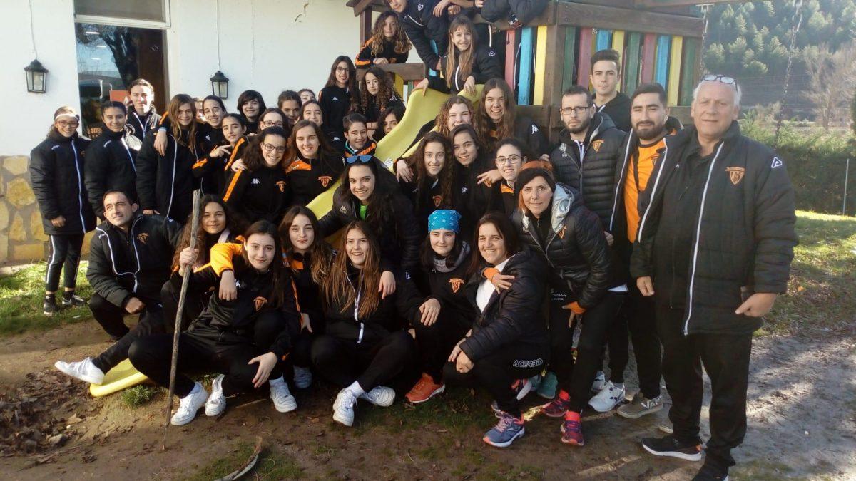 El Atlético de Laguna femenino regional y alevín cierran el año con importantes victorias