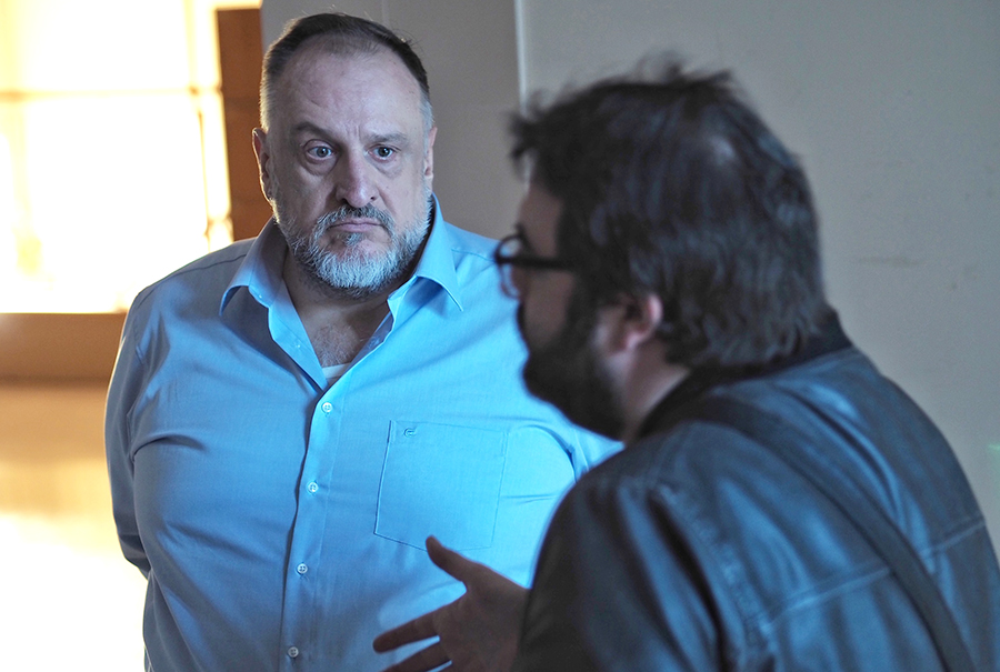 Herminio Cardiel vuelve a la carga con 'Ogro', un corto rodado en Valladolid