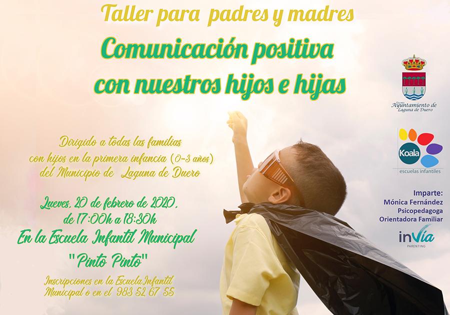 La Escuela Infantil 'Pinto Pinto' ofrece un taller sobre comunicación positiva en edades tempranas