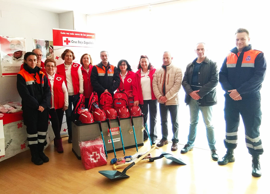 Cruz Roja presenta su Equipo de Respuesta Básica en Emergencias