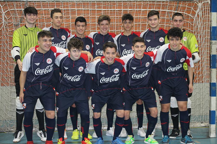 Diego Rodríguez Chantre, a punto de hacer historia con la selección regional de fútbol sala