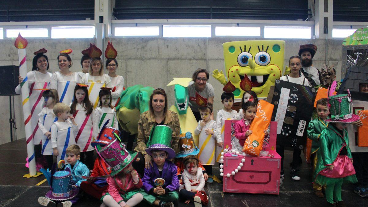 La pasarela infantil de Carnaval reúne una multitud de propuestas creativas