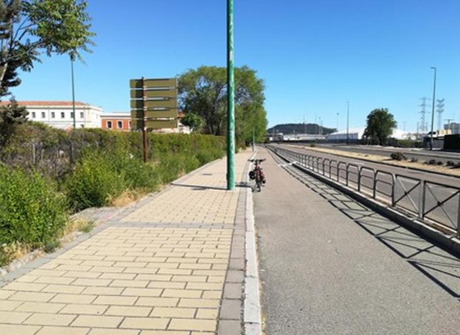 Laguna y Valladolid esperan acercar posturas para su conexión a través de un carril bici