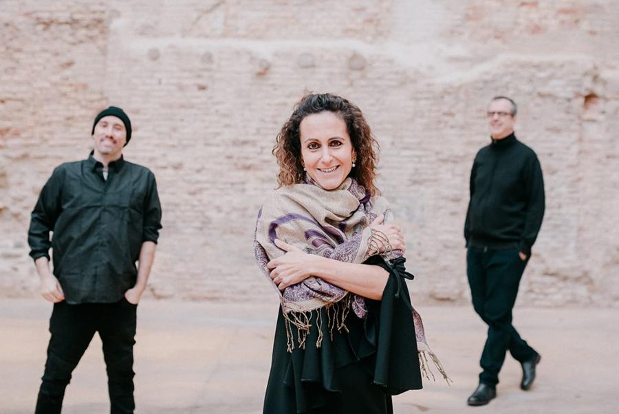 Vanesa Muela presenta nuevo disco junto con el trío 'Zaraval'