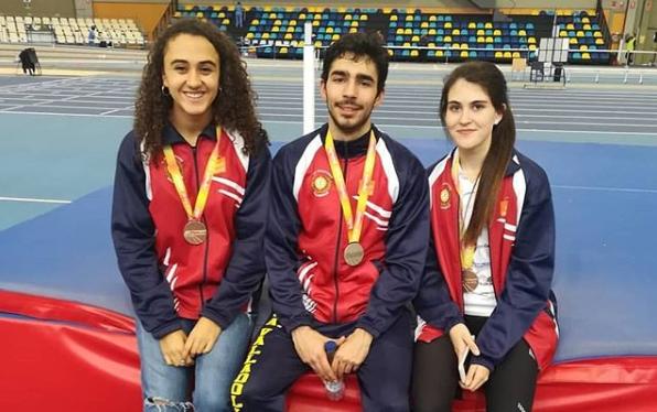 Laura Martín, plata en altura en el  Campeonato de España sub 23