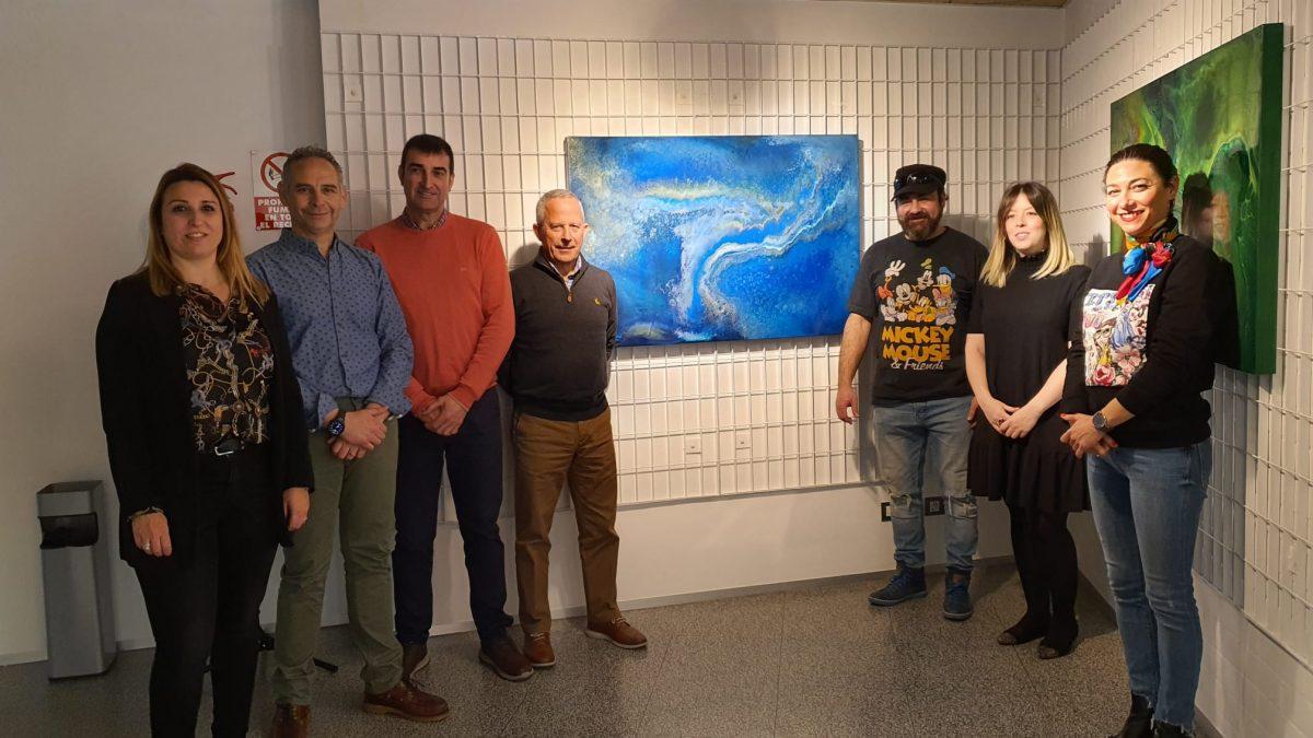 Alberto de Campo llega a la sala de exposiciones de la Casa de las Artes con 'Historias de color'