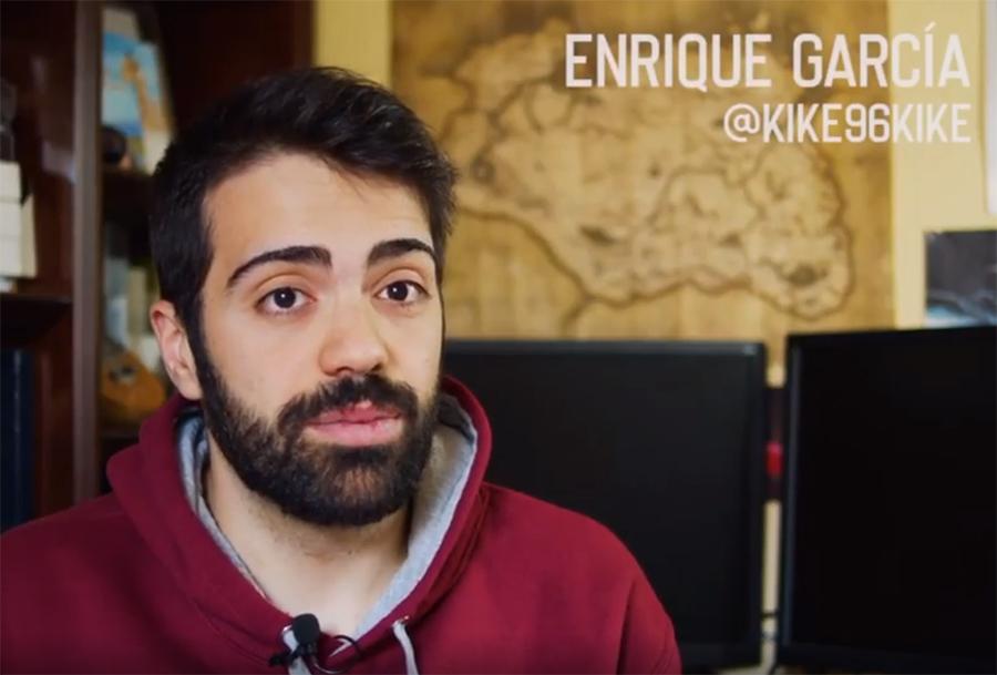 Enrique García participa en el Cuarentena Film Festival con 'Nuevos Influencers'