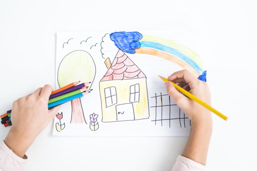 Cruz Roja pone en marcha el certamen infantil de dibujo 'Valientes de la cuarentena'