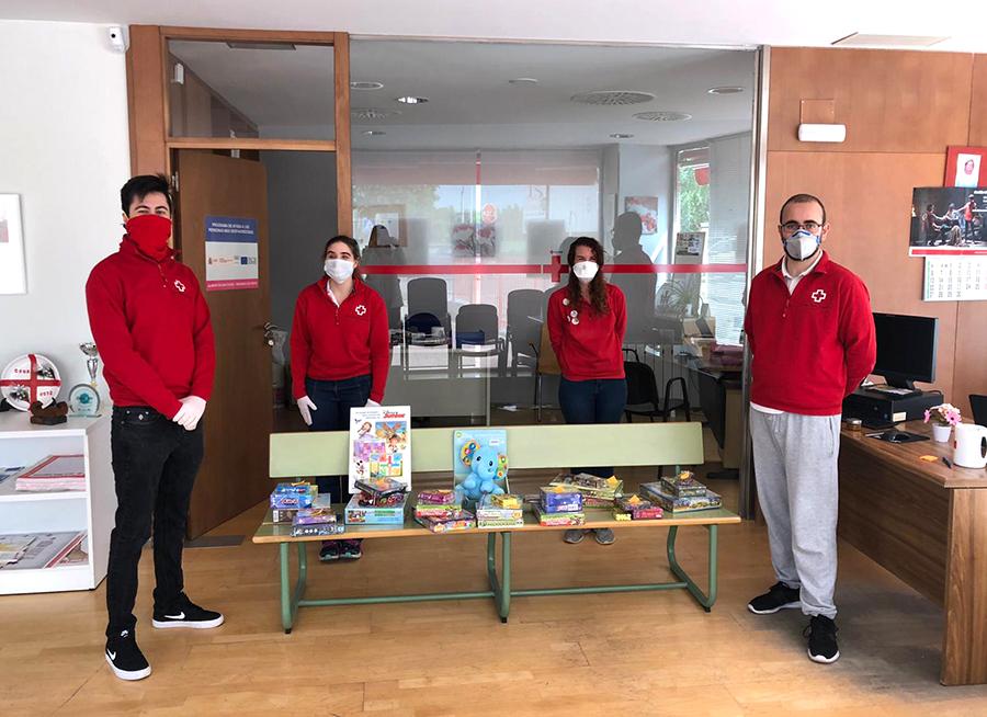 Cruz Roja Juventud se implica con la infancia más vulnerable