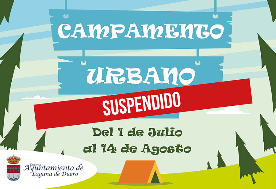 Suspendido el Campamento Urbano de verano debido al insuficiente número de inscripciones