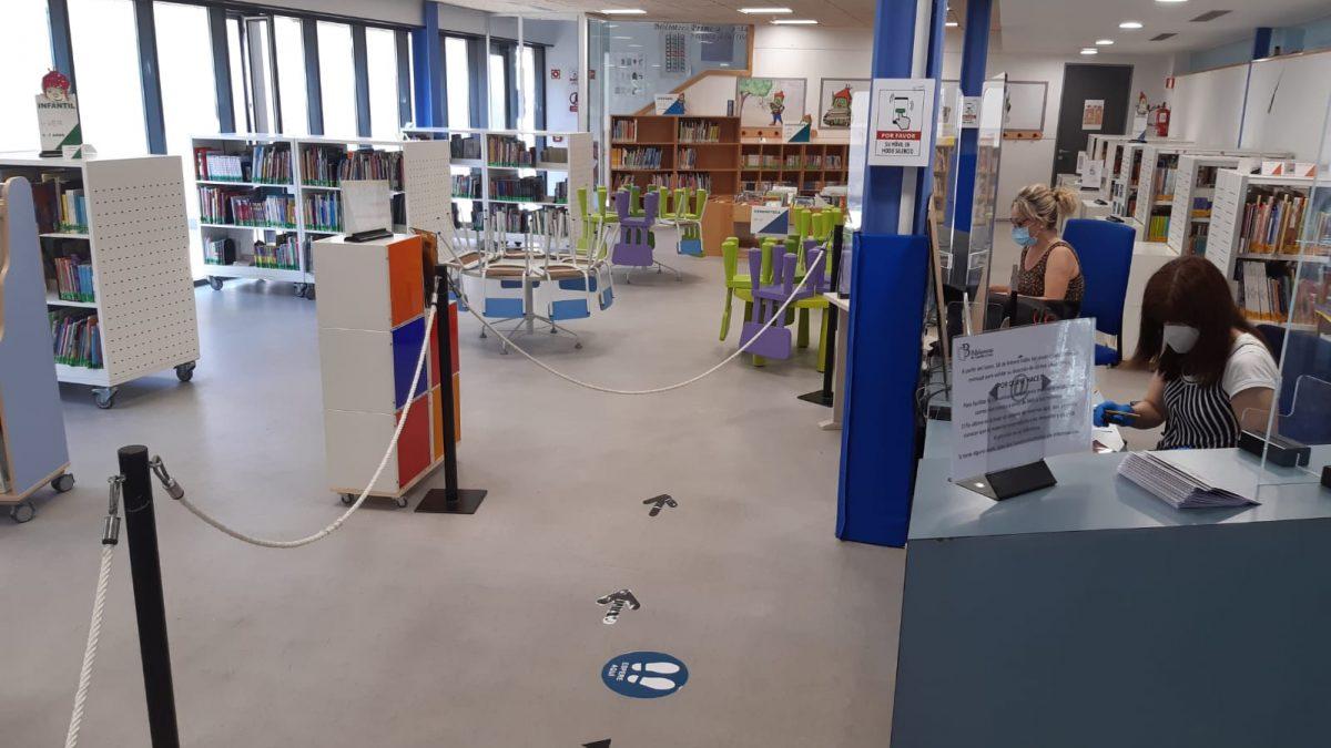 Reabre la Biblioteca Municipal con todas las medidas de seguridad