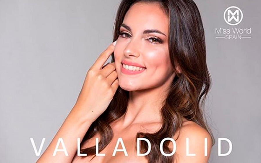 La lagunera Elena Cesteros, primera dama de honor en el Miss Mundo España 2020