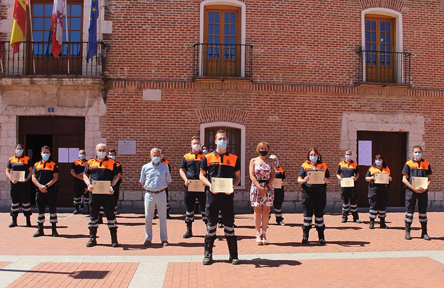 Laguna reconoce públicamente la labor de Protección Civil durante la crisis sanitaria