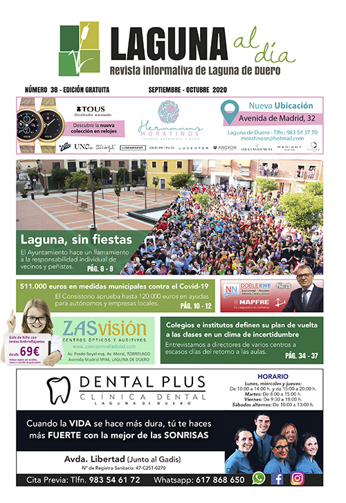 Portada de la trigésimo séptima edición de la revista Laguna al Día