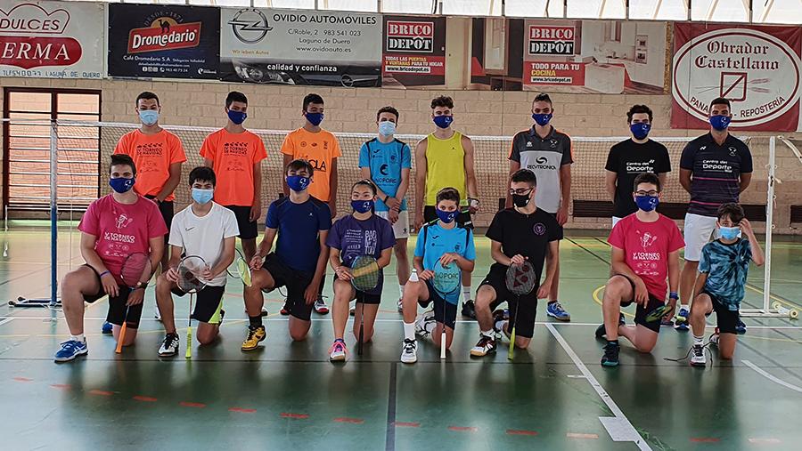 Concluye el III Campus de Verano del C.D. Bádminton Laguna, en el que han participado 76 jugadores