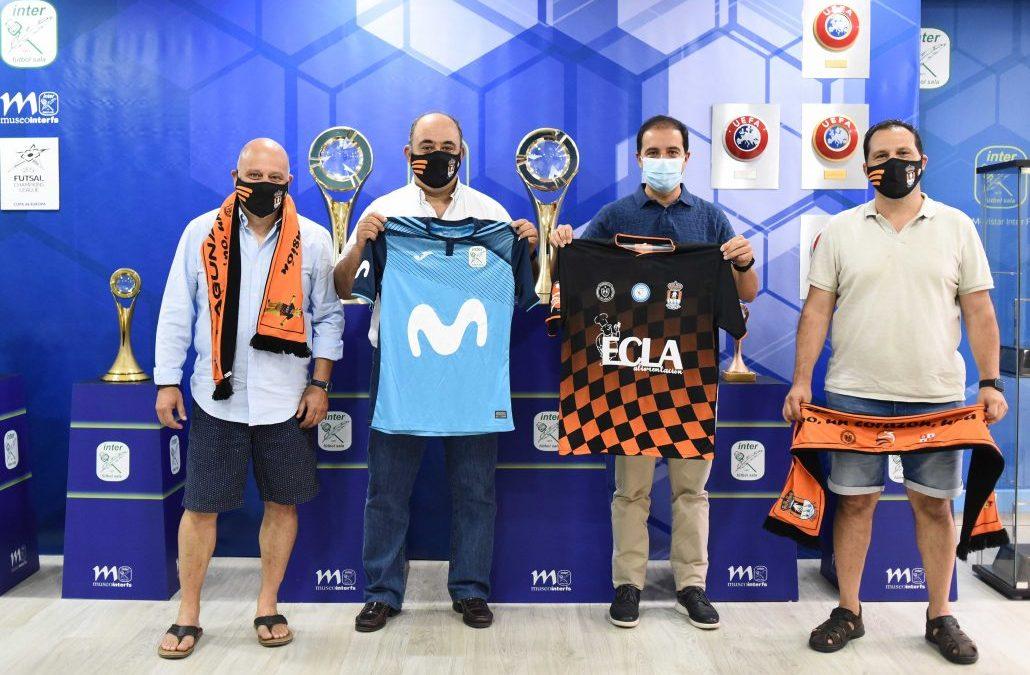 Movistar Inter FS presenta a Fundación Deportiva y Cultural Laguna como nueva escuela 'Escuela Inter'