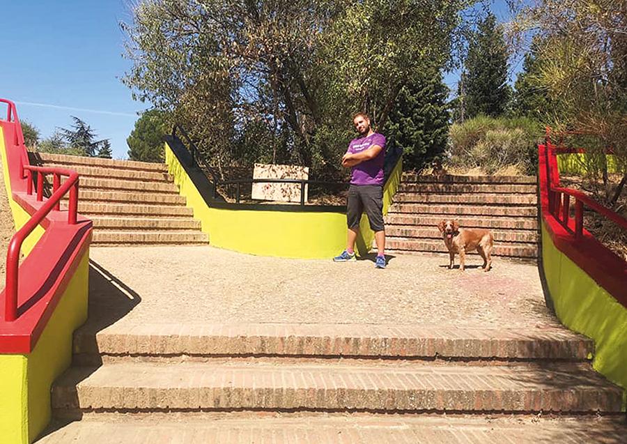 El 'Parque del Covid', un proyecto de regeneración de espacios que nace del voluntariado juvenil