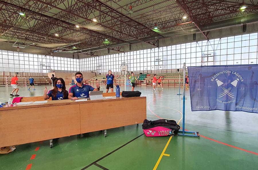 El C.D. Bádminton Laguna inicia la temporada con 130 jugadores entre estrictos protocolos sanitarios