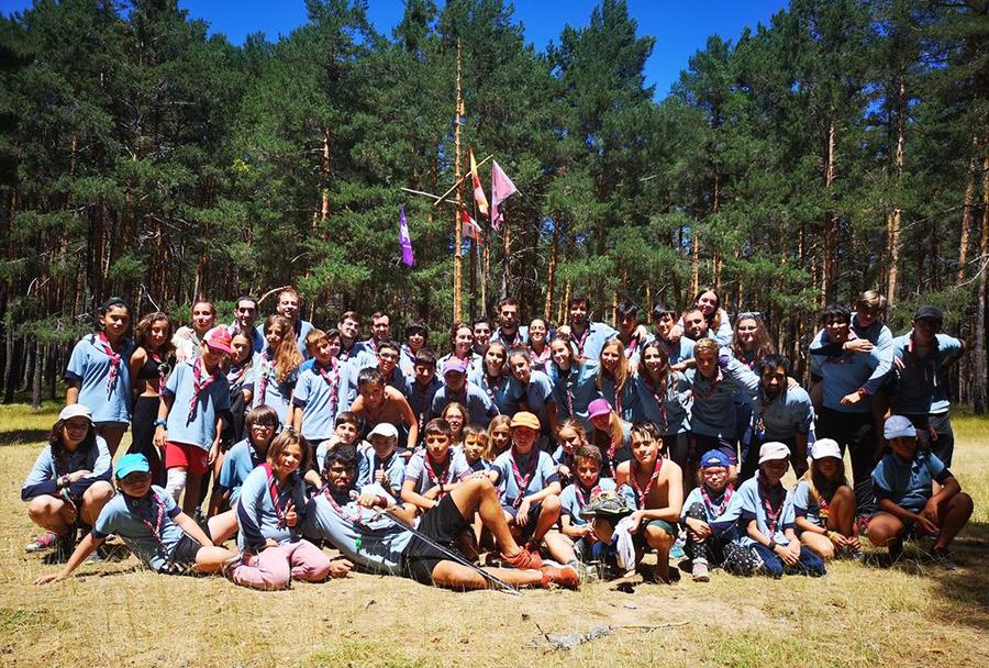 El Grupo Scout de Laguna arranca su actividad priorizando las actividades al aire libre