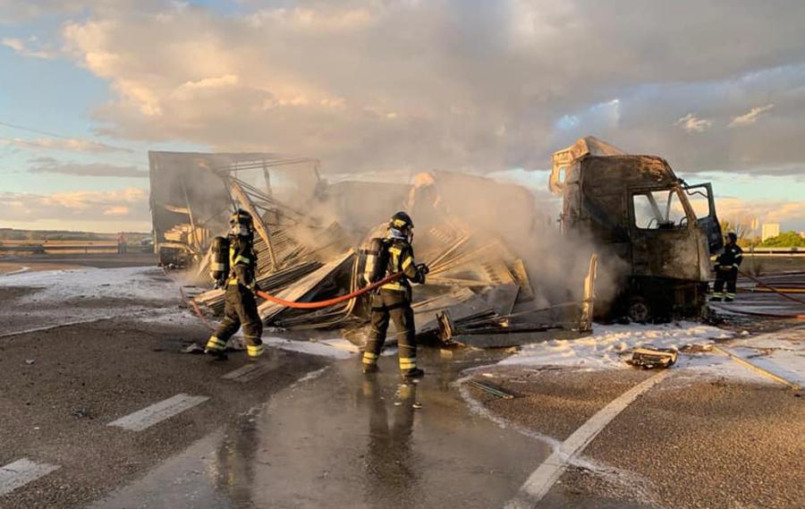 La Diputación de Valladolid asumirá el servicio de extinción de incendios en el alfoz