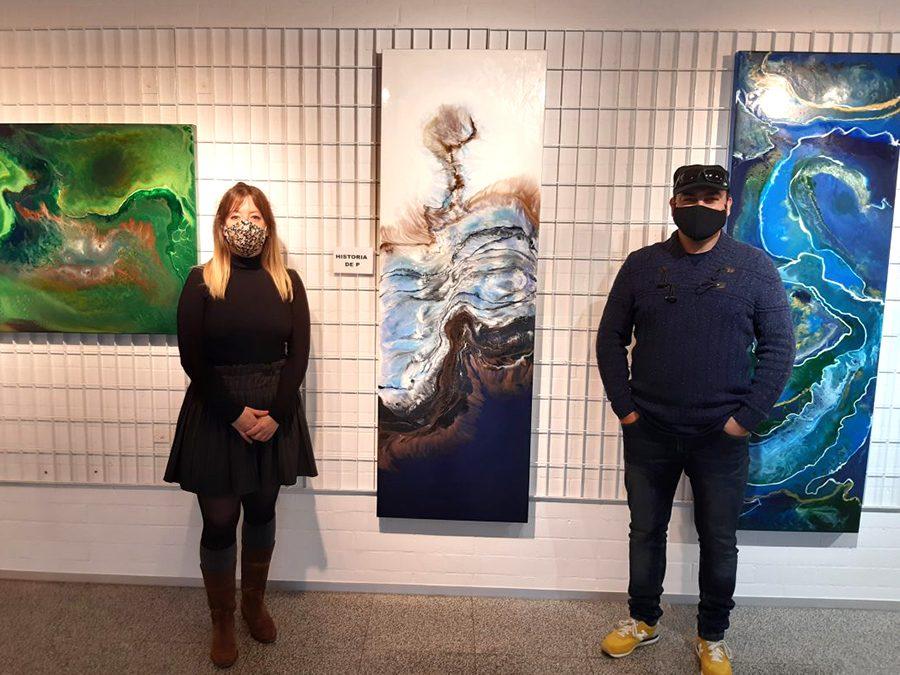 Alberto de Campo vuelve a exponer su obra pictórica en la muestra 'Historias de color'