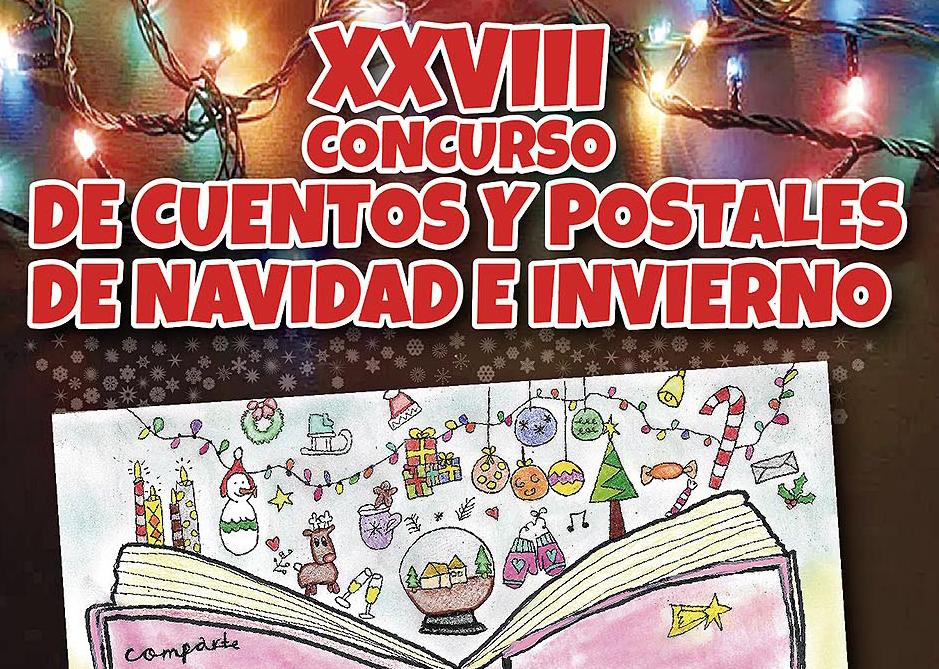 Abierto el plazo de inscripción al XXVIII Concurso de Cuentos y Postales de Navidad e Invierno 2020