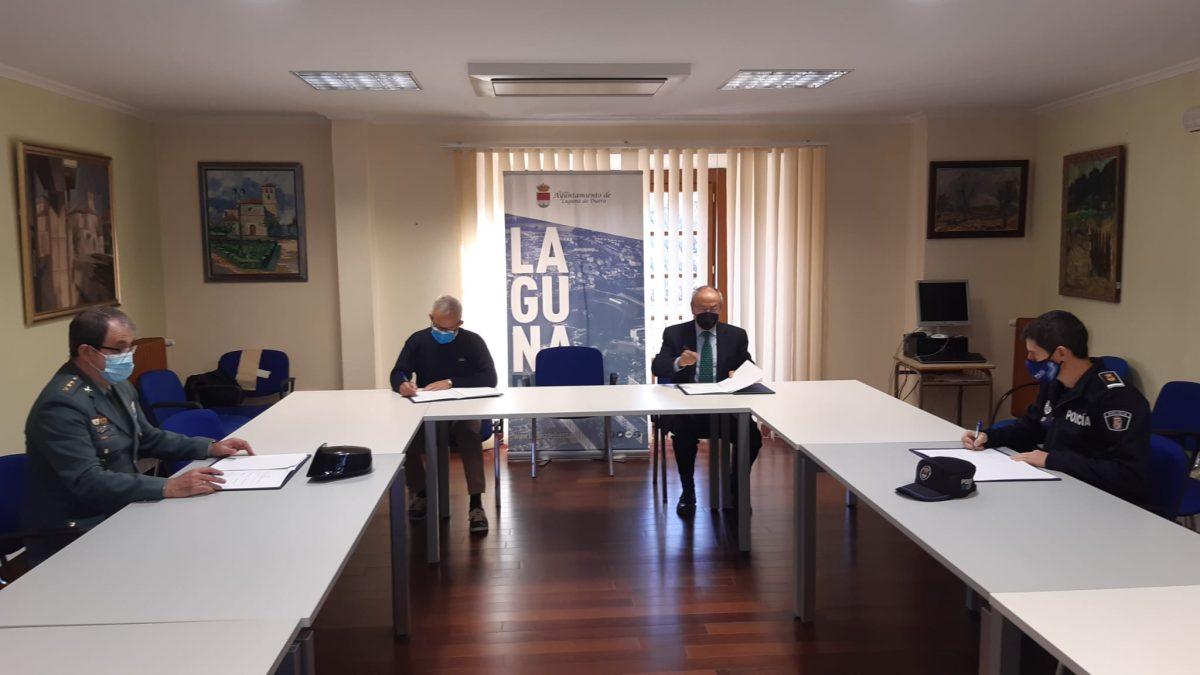 Subdelegación y Ayuntamiento firman un protocolo de colaboración entre cuerpos de seguridad