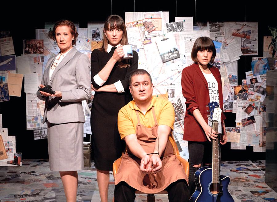 'Hombres que escriben en habitaciones pequeñas', última actuación teatral de la temporada en la Casa de las Artes