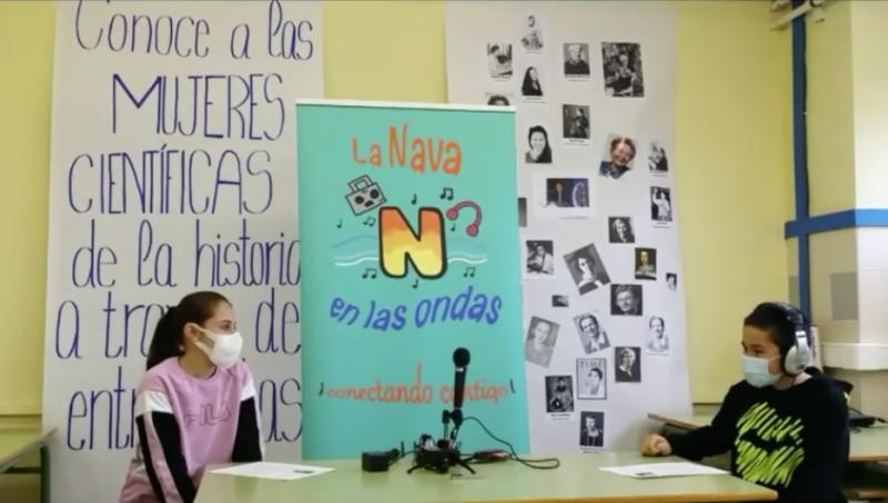 Los alumnos de CEIP Ntra. Sra. Del Villar clausuran el III Encuentro de Radios Escolares de Valladolid