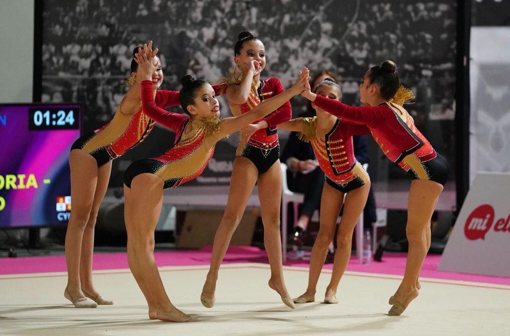 Sabor agridulce para las gimnastas laguneras en el campeonato de España de conjuntos