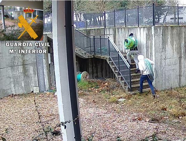 Tres detenidos como presuntos autores del robo de materiales en el Parque Tecnológico de Boecillo