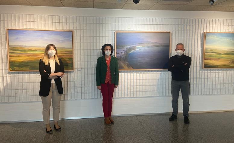 La exposición 'Solo pintura' inunda de color la Casa de las Artes