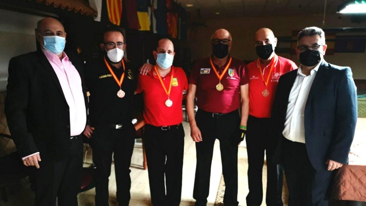 José Ignacio Merino, campeón de España de billar en la modalidad de 5 quillas