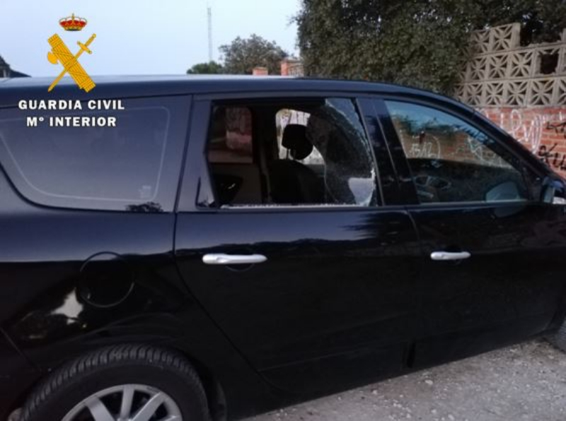 La Guardia Civil detiene a un varón en Laguna de Duero por robo en el interior de vehículos en varias localidades