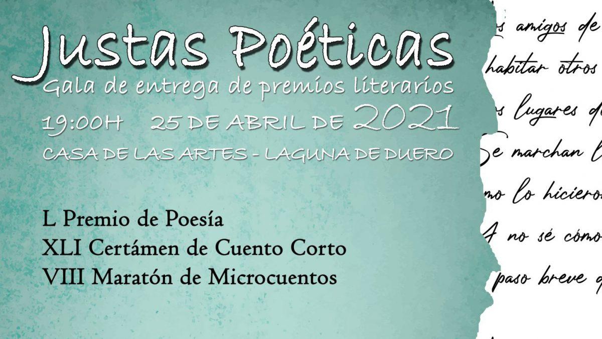 Amando García y Sol García, triunfadores de las Justas Poéticas 2021