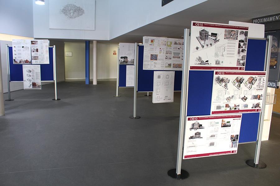 El Ayuntamiento expone los ocho anteproyectos presentados para diseñar el nuevo 'Espacio Joven'