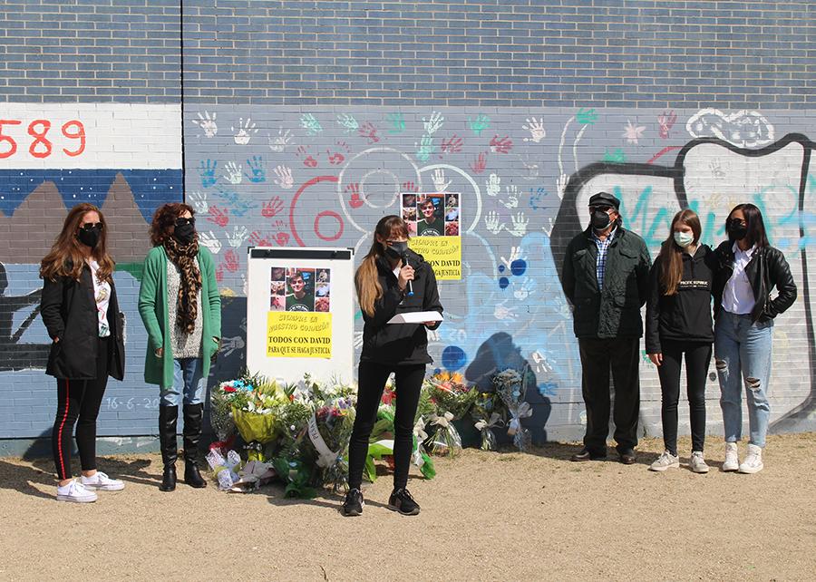 Laguna rinde homenaje a la memoria del joven David y clama justicia un año después de su asesinato