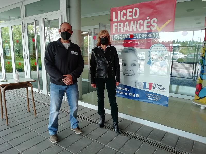 El Liceo Francés y BitLan Asesores Informáticos subscriben un convenio de colaboración