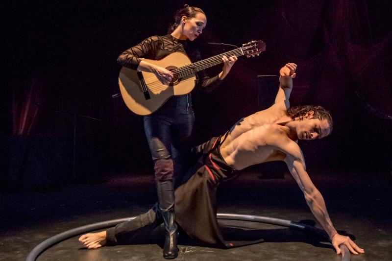 Órbita, el espectáculo de danza contemporánea, llega a la Casa de las Artes