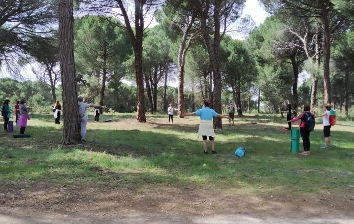 'Lagunatural' acerca la relajación al aire libre en su segunda ruta