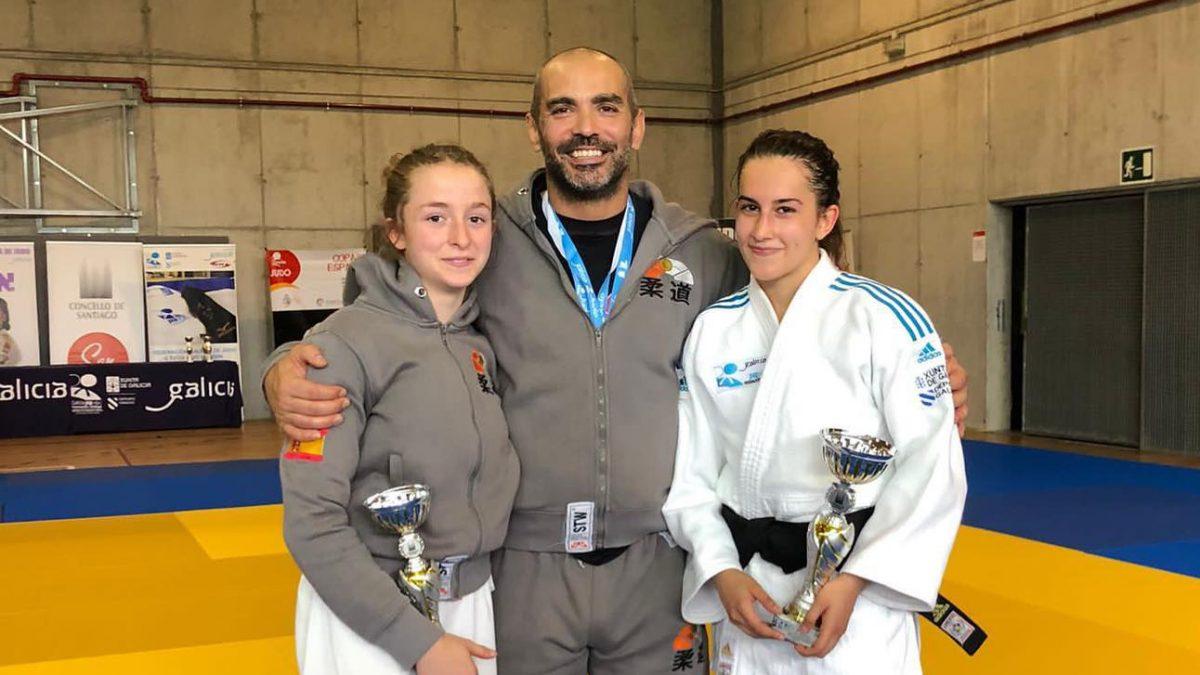 Las judokas de Titan Combat Club se suben al podio en la Copa de España Junior de Santiago