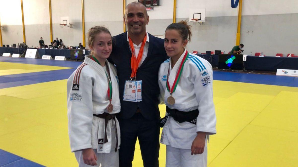 Oro y bronce para Inés Villahoz y Marta Gaitero en la Copa Internacional de Coimbra
