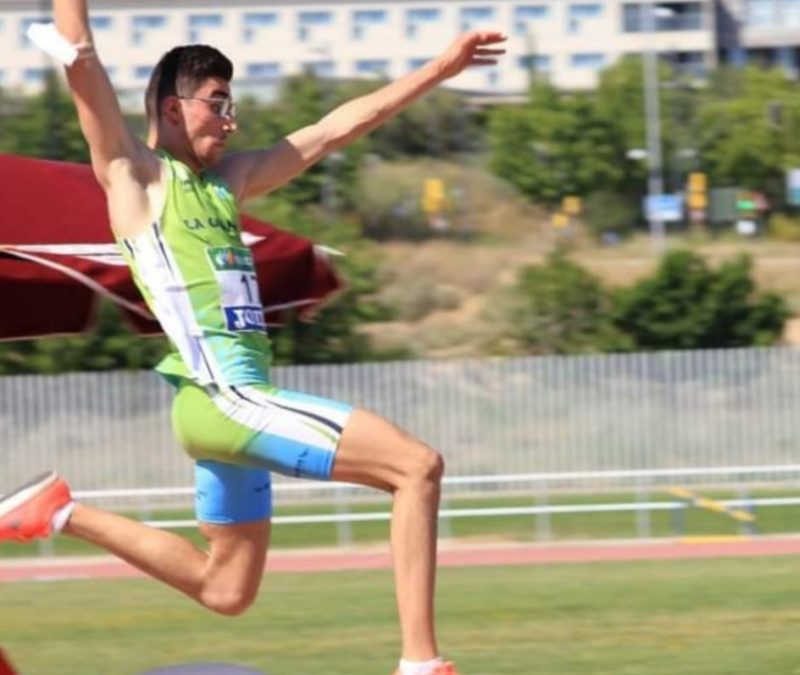 El lagunero Fernando Vara consigue dos medallas de oro en el Campeonato Autonómico Sub-20
