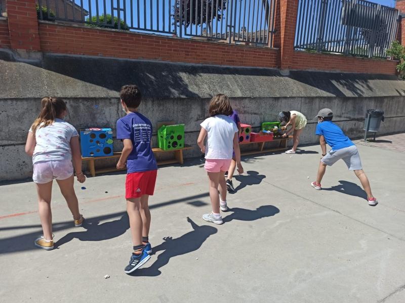 El CEIP Ntra. Sra. del Villar celebra la Semana del Medio Ambiente con una gymkana ecológica